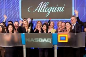 NASDAQ closing bell January 24, 2011