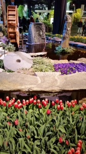 Boston Flower show landscape with stone elements 20150312_164638