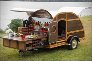 Bulleit Woody Trailer