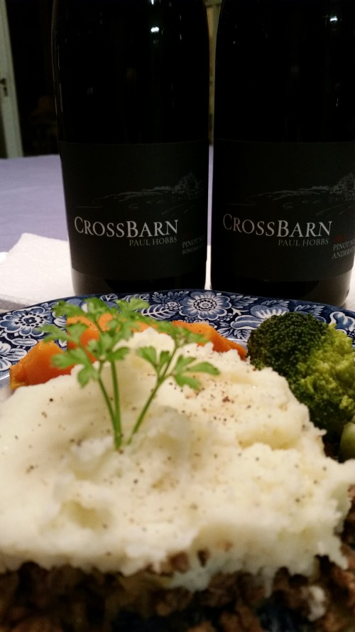 Drink, don't think: Crossbarn Pinot Noirs